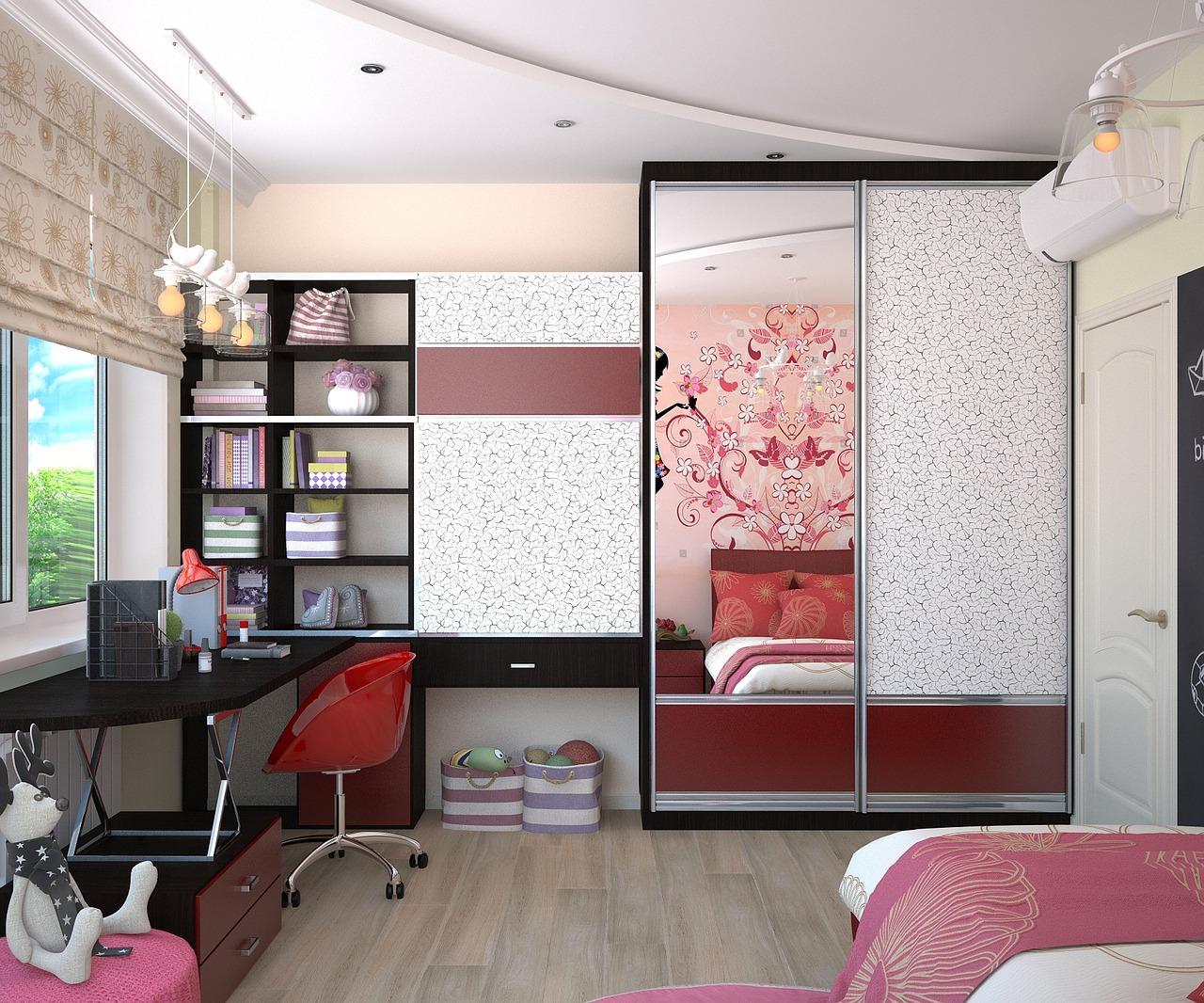 תמונה של חדר של ילדה